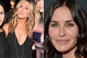 Jennifer Aniston / Courteney Cox w 2015 r.