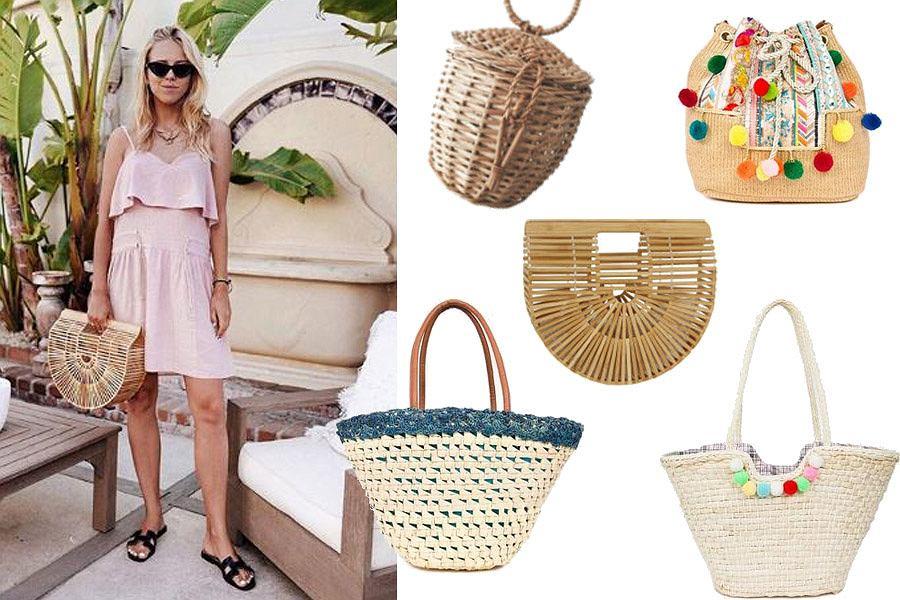 Kolaż, torebki na lato/Materiały partnera