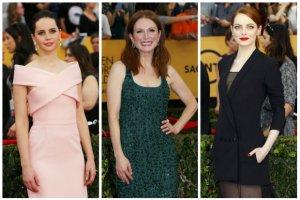 SAG Awards 2015: gwiazdy, kt�re nas zachwyci�y na czerwonym dywanie