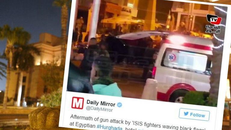 W ataku na hotel w Hurghadzie ucierpiało dwóch turystów