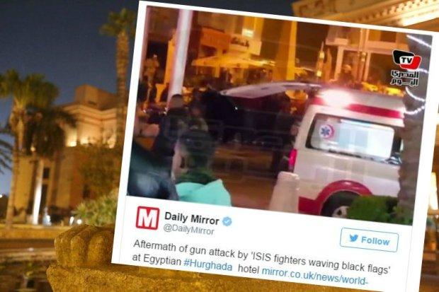 W ataku na hotel w Hurghadzie ucierpia�o dw�ch turyst�w