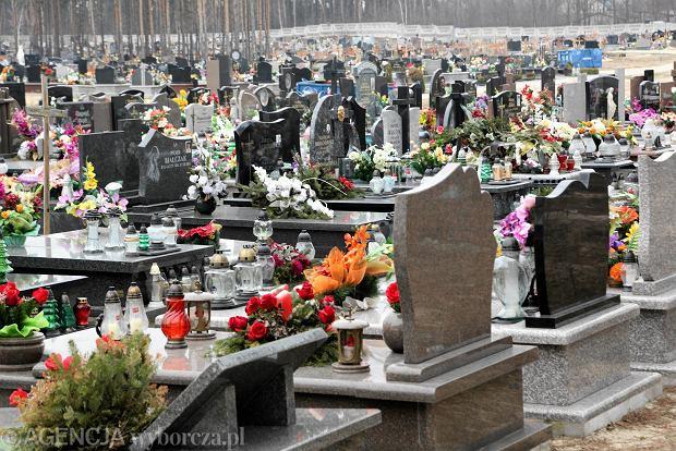 Ksi�dz wjecha� przez cmentarz, niepe�nosprawny nie m�g�