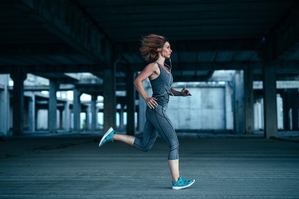 Trening cardio. Bieganie na dworze