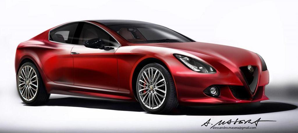 Szkic Alfa Romeo Giulia