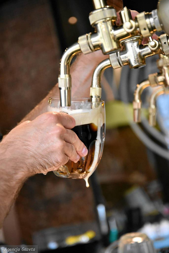 Piwo w restauracji Bohemia przy ul. Jana Pawła II 23 / FRANCISZEK MAZUR