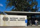 Rozbi� namiot pod siedzib� ONZ w Genewie. To nie imigrant, ale... student na bezp�atnym sta�u