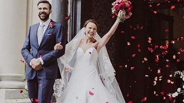 Anna Starmach pokazała ślubne zdjęcia z okazji pierwszej rocznicy