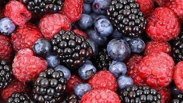 Owoce jagodowe - to źródło witamin m.in A i C