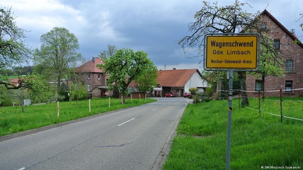 Miejscowość Wagenschwend, Niemcy (fot. Wojciech Szymański/Deutsche Welle)
