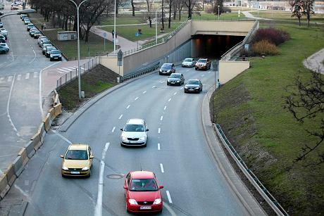 z19831597AA,Warszawa--Tunel-Wislostrady