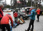 Wypadek turysty w rejonie Rysów. Dramatyczna akcja ratunkowa