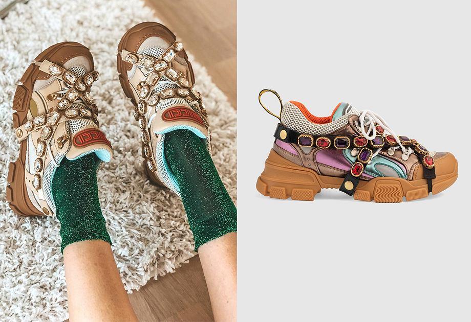 Najmodniejsze buty sezonu - Gucci Flashtrek