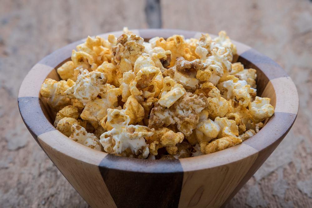 Domowy popcorn - przepis podstawowy