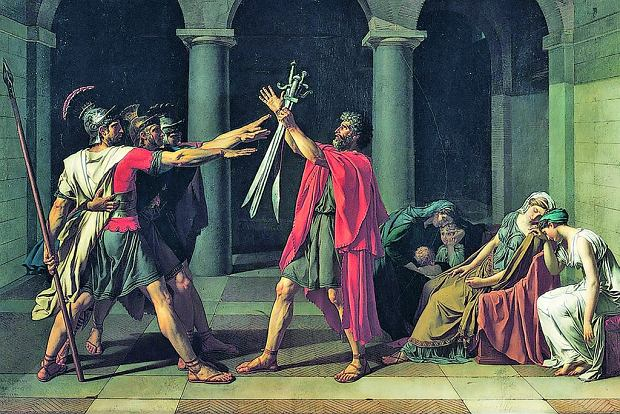 Salut rzymski, pozdrowienie neofaszystów i narodowców: gest, którego nie było