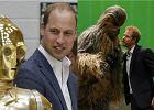 """Ksi��� William i ksi��� Harry na planie... """"Gwiezdnych Wojen""""! By�a walka na miecze"""