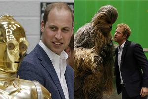 Ksi��� William i ksi��� Harry na planie Gwiezdnych Wojen