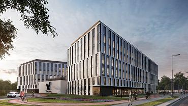 Biurowiec V.Offices - wizualizacja