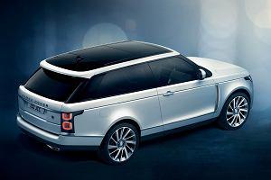 Range Rover SV Coupe nie wyjedzie na drogi
