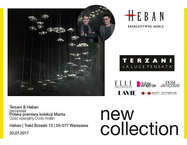 Terzani & Heban zaprasza na polską premierę kolekcji Manta