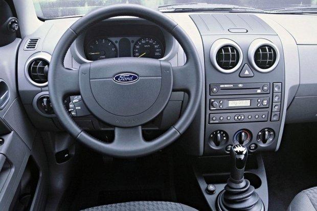 Ford Fusion - wnętrze