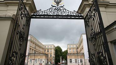 Uniwersytet Warszawski, Brama Główna, widok na Krakowskie Przedmieście