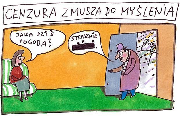 Marek Raczkowski dla Gazeta.pl - 11.10.2013  -  - rys. Marek Raczkowski