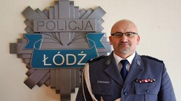 Dariusz Walichnowsk, odwołany wicekomendant KWP w Łodzi