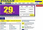 Bilety Ryanaira dro�sze przez b��dnie wydane karty