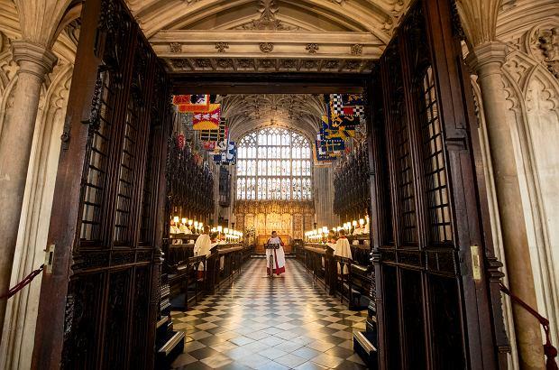 Ślub księcia Harry'ego i Meghan Markle. Kaplica św. Jerzego