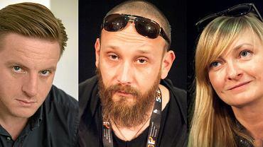 Szczepan Twardoch, Paweł Demirski i Monika Strzępka