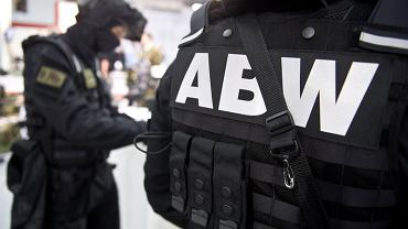 Funkcjonariusze ABW.