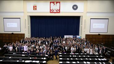 Parlament Dzieci i Młodzieży na Uniwersytecie Warszawskim. Warszawa, 1 czerwca 2018