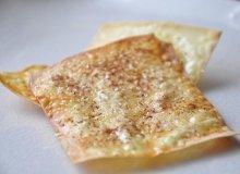 Chipsy won ton na słodko - ugotuj
