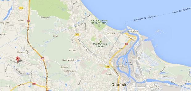 Wypadek w Gda�sku, 8 pasa�er�w autobusu miejskiego poszkodowanych