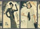 Kwieciste sukienki i włosy w lokach - Polki w latach 30. i 40. wyglądały jak gwiazdy kina