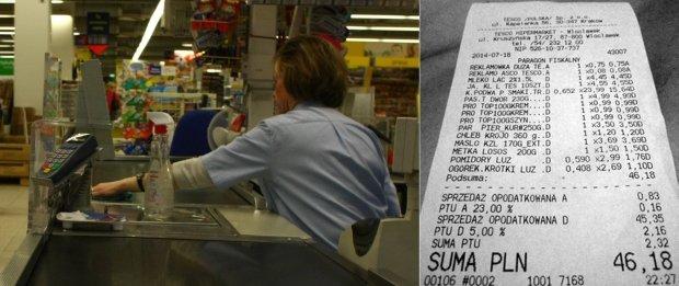 Paragon za zakupy w jednym z hipermarket�w
