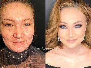 Goar Avertisan to makijażystka, która nie bez powodu na Instagramie nazywana jest czarodziejką. To właśnie ona stoi za tymi niesamowitymi makijażami, które zasługują na miano dzieł sztuki. Czasem aż trudno uwierzyć, że są one tylko kwestią kilku trików i odpowiednio dobranych  kosmetyków. Profil utalentowanej Avertisan śledzi ponad 3 miliony internautów, którzy nie przestają pytać, jak udało jej się uzyskać taki efekt. Zajrzyjcie do naszej galerii i zobaczcie sami! A to i tak tylko niewielki pokaz jej możliwości!