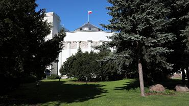 Budynek Sejmu (fot. Sławomir Kamiński/AG)