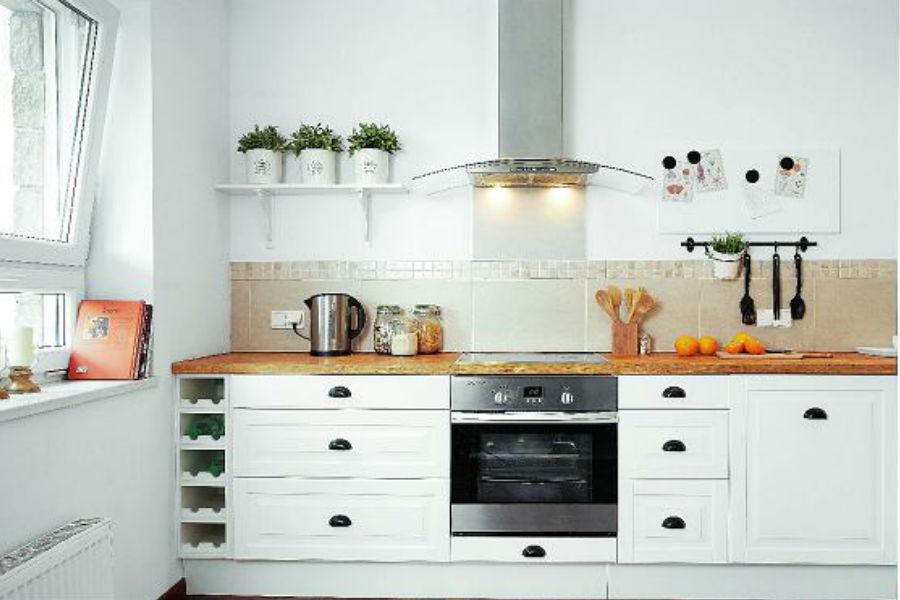 Najpiękniejsze dodatki do małej kuchni -> Inspiracje Kuchni Malej
