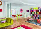Potęga koloru. Barwne mieszkanie pary architektów