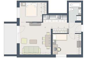 Jak wydzielić dodatkowy pokój w dwupokojowym mieszkaniu?