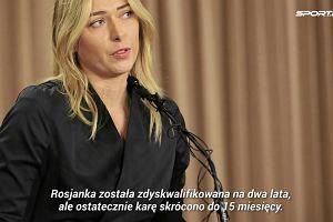 """Tenis. Czy Maria Szarapowa powinna dostawać dzikie karty? """"Jest klejnotem, który każdy chce mieć"""""""
