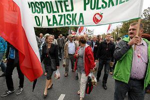 Protest sadownik�w, domagali si� pomocy od rz�du