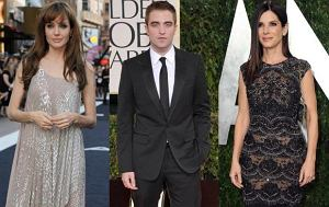 Angelina Jolie, Robert Pattinson, Sandra Bullock