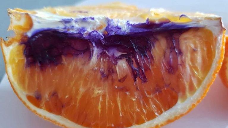 Fioletowe pomarańcze