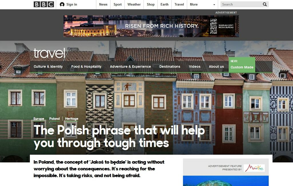 BBC o Polsce