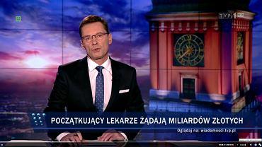Paski z 'Wiadomości' TVP