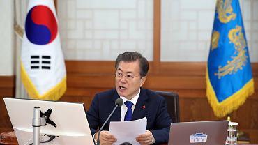 Prezydent Korei Południowej Moon Jae in