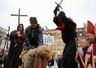 """M�odzi katolicy zak��cili Marsz Ateist�w. """"Gdzie jest inkwizycja"""""""