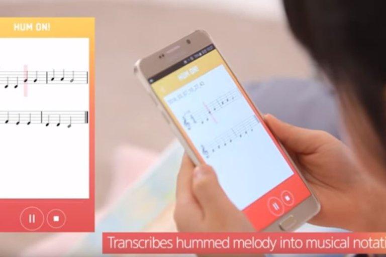 Hum On!  - testowa aplikacja Samsunga zmienia nucenie w muzykę